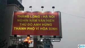 """Thang Long-Hanoi Thousand Years of Heritage Heroic Capital The city of peace"""